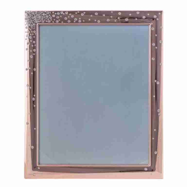 "ROSE GOLD DIAMANTE 8x10"" FRAME"