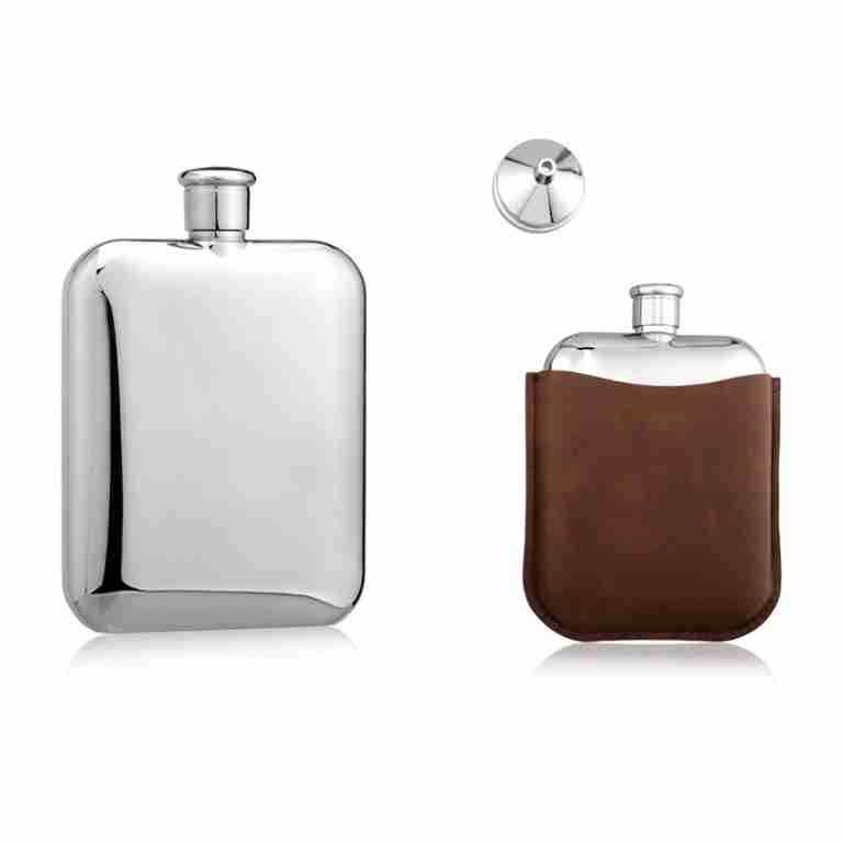 Whitehill 6oz Hip Flask & Funnel