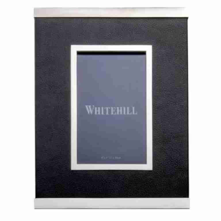 Whitehill Black Leather Frame 15x10xm