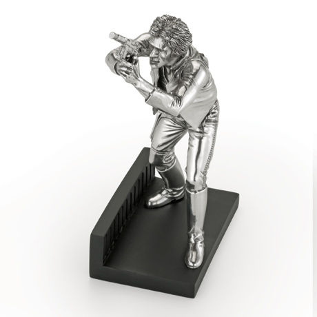 Limited Edition Han Solo Figurine - Royal Selangor