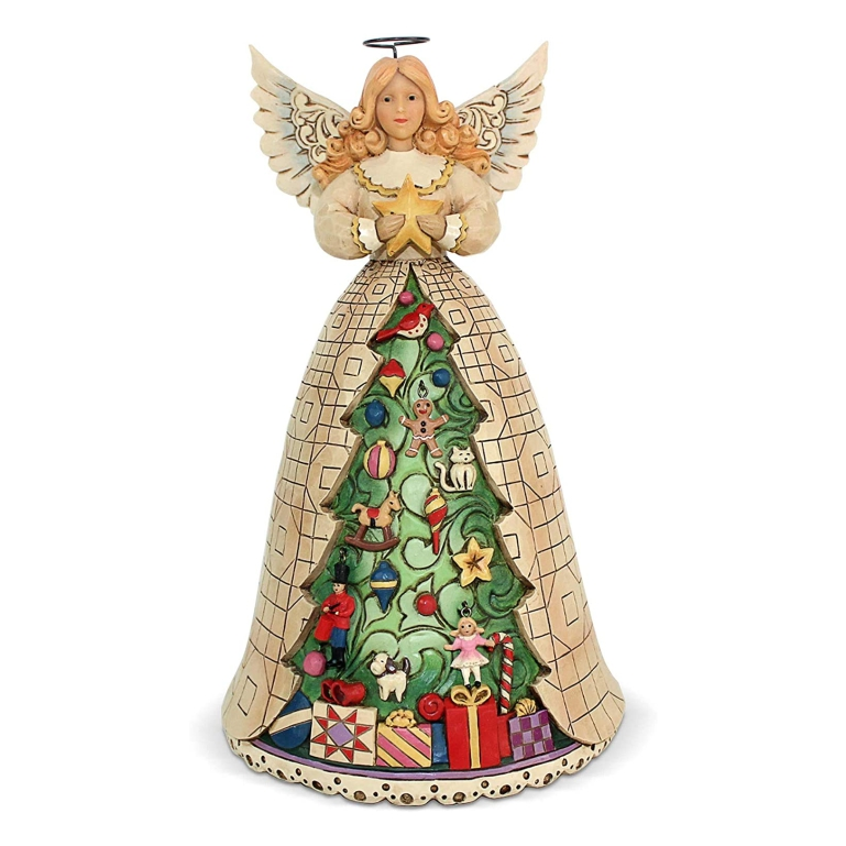 Jim Shore Angel with Christmas Tree Skirt