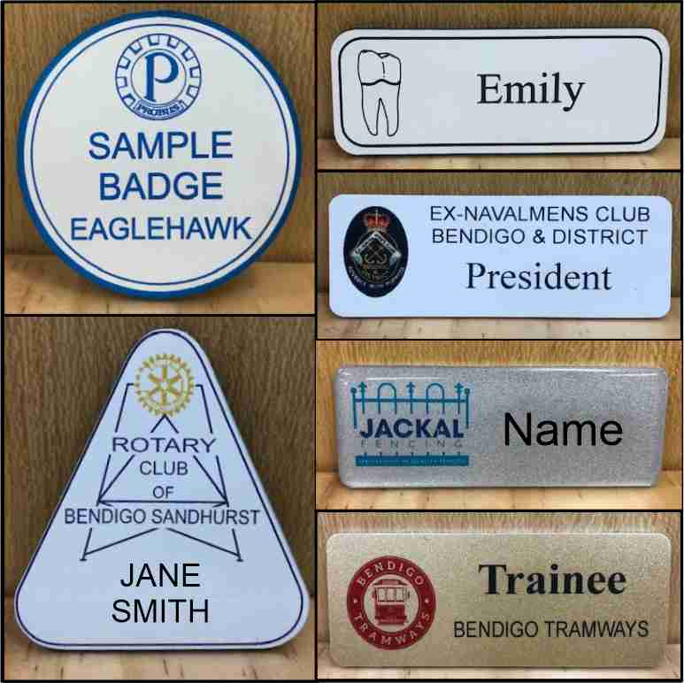 2-9 NAME BADGES