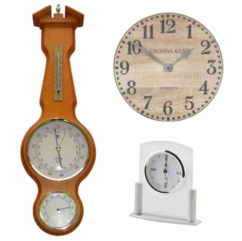 Checkout the Full Range Clocks & Barometers  shop now!
