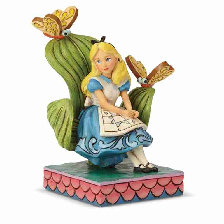 Jim Shore Disney Traditions Alice In Wonderland Curiouser