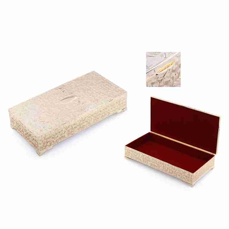 Whitehill Imperial Gold Finish Oblong Jewellery Box