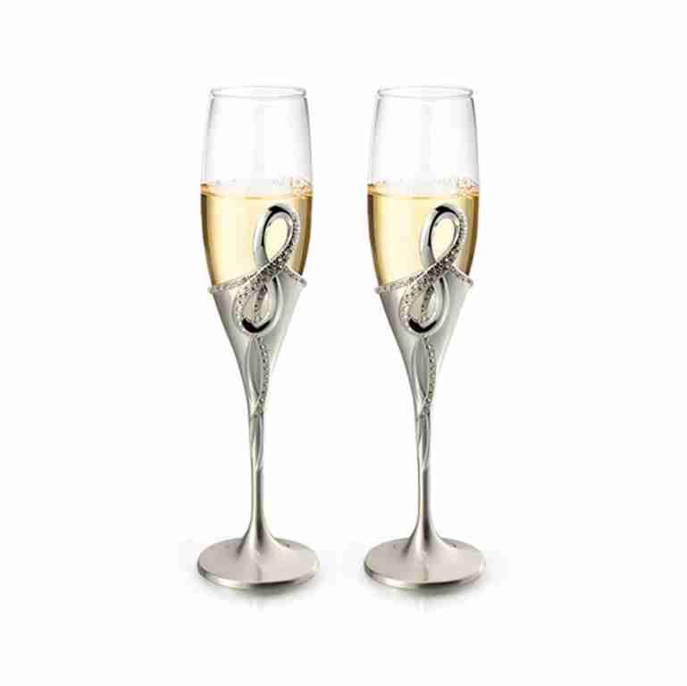 Whitehill Infinity Champagne Flutes